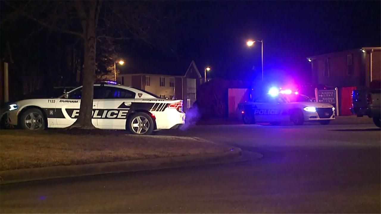 Police investigate after a teen was shot in Durham.