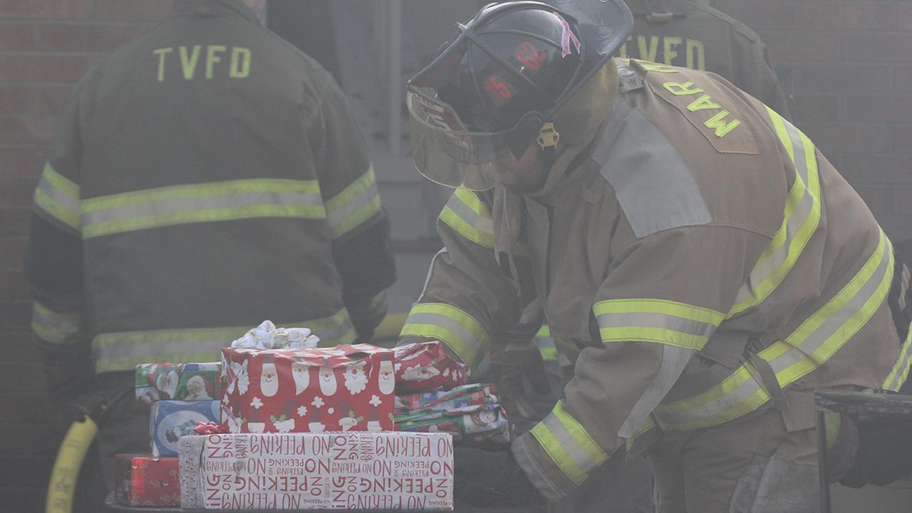 Firefighters rescue Christmas from house fire in Goldsboro
