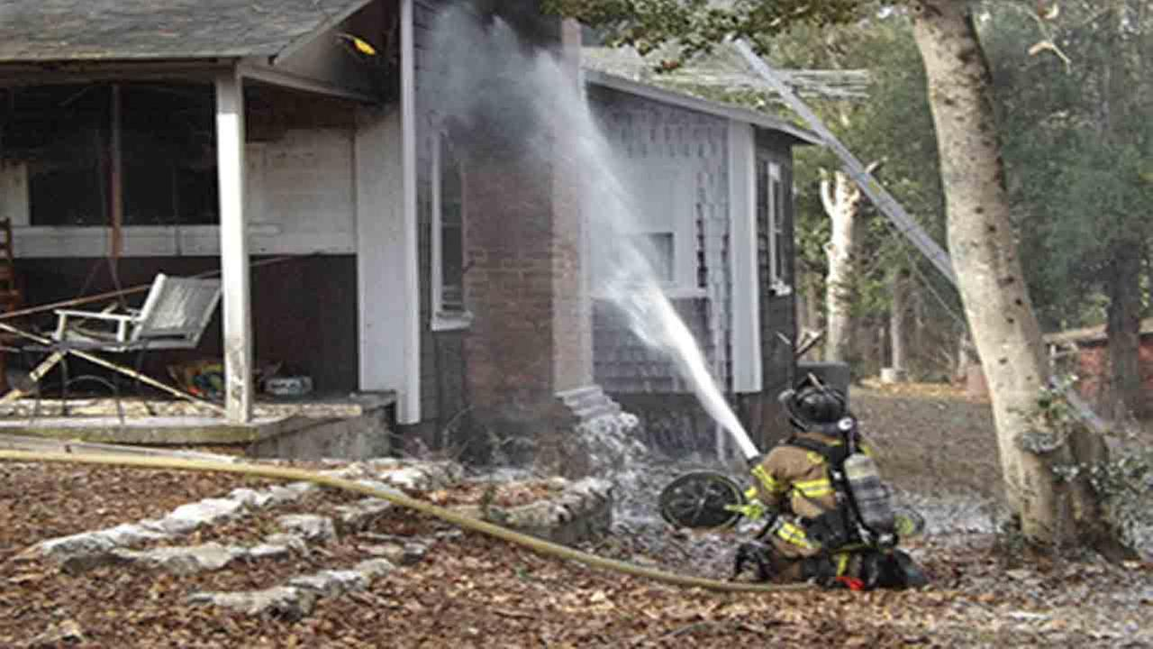 One person died in a house fire Monday afternoon outside of Vass