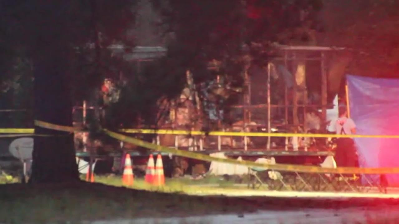 Six people died in this home fire in Garland.
