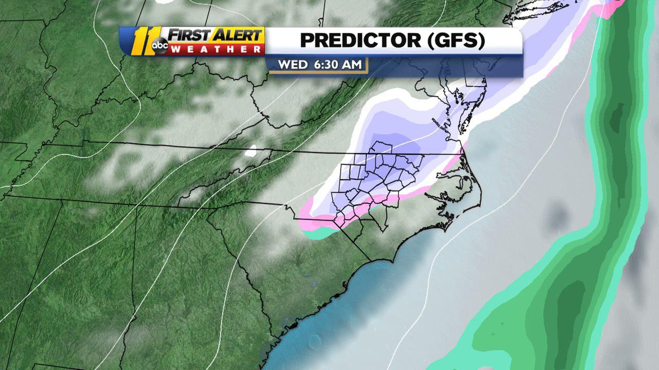 Steve Stewart says more snow could be heading our way