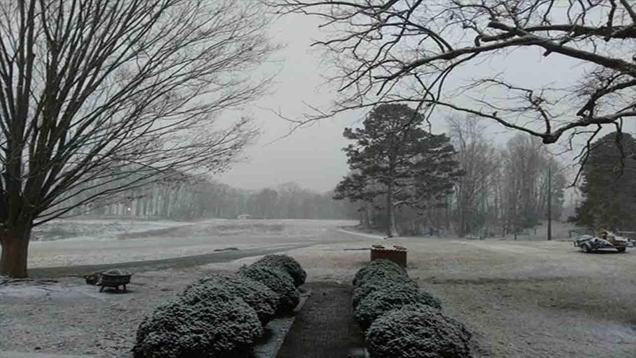 Snow in Roxboro