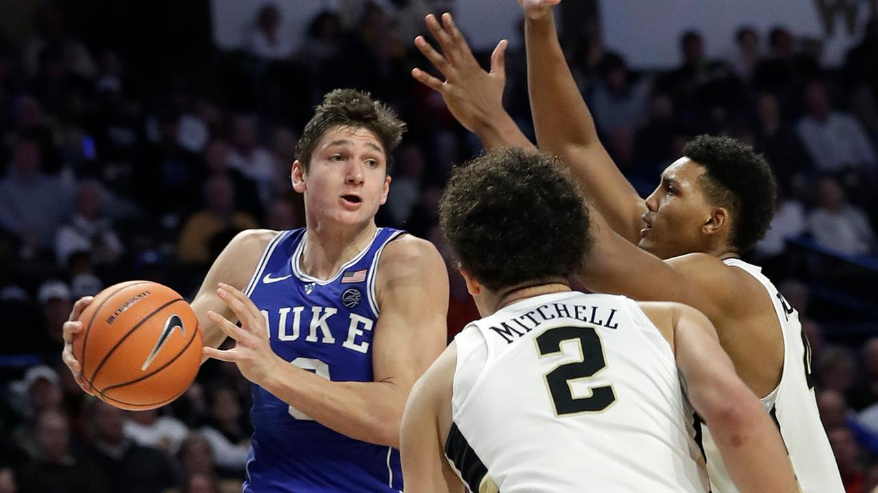 Grayson Allen had 17 points and six assists as Duke cruised past the Demon Deacons on Tuesday.
