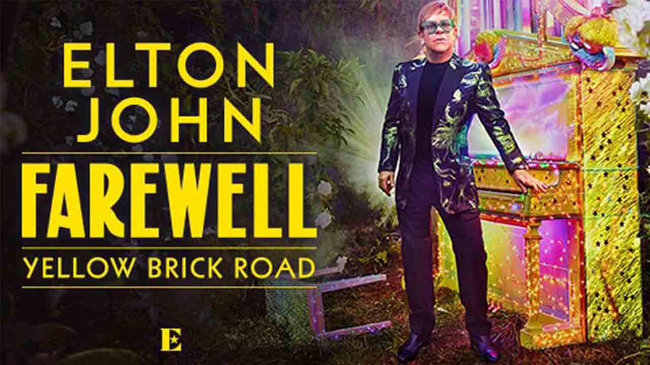 Elton John announces farewell world concerts