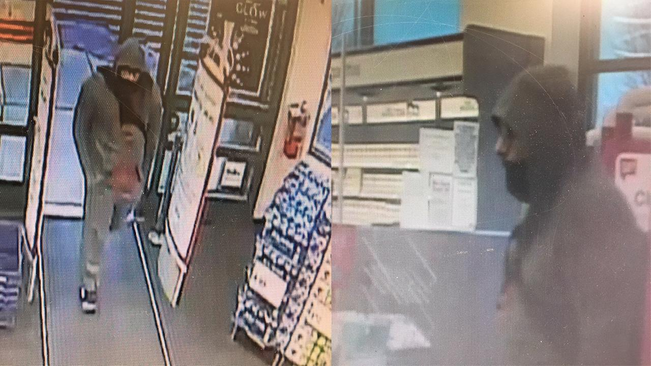 Wake Forest police seek suspect in Walgreens robbery