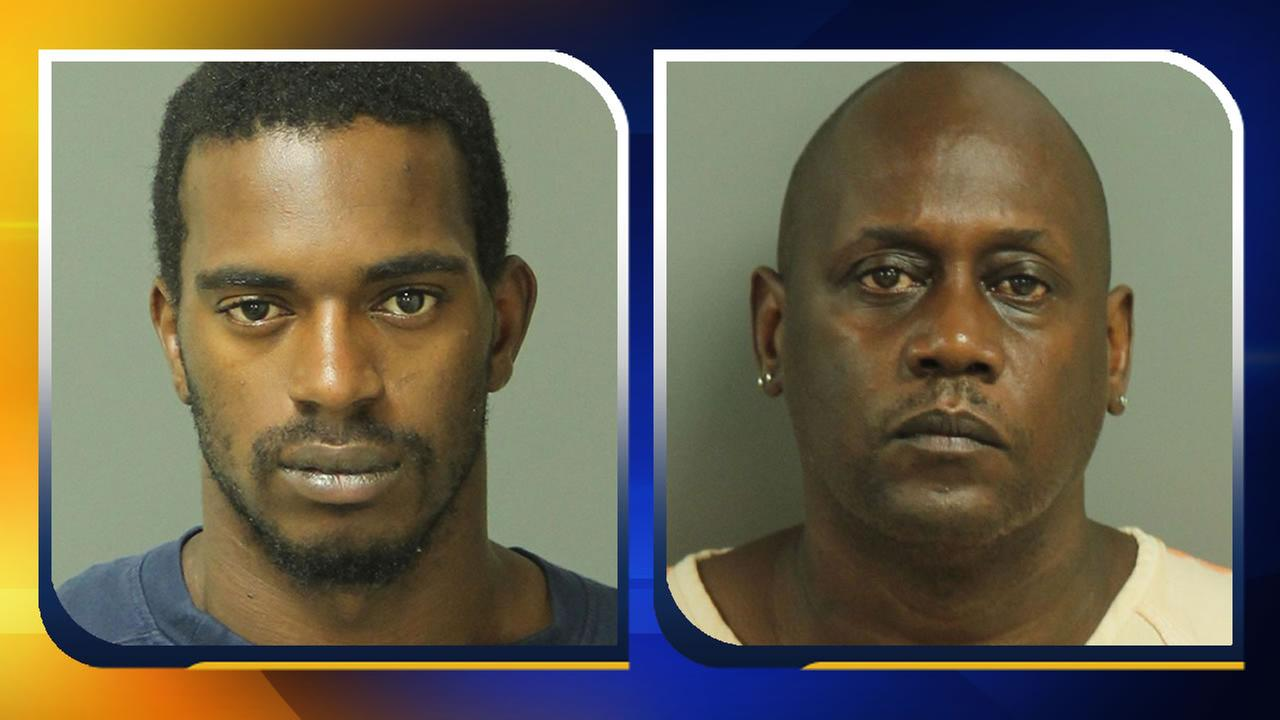Cedano Lee Moor and Barry Darnell Sills. (images courtesy Zebulon Police Department)
