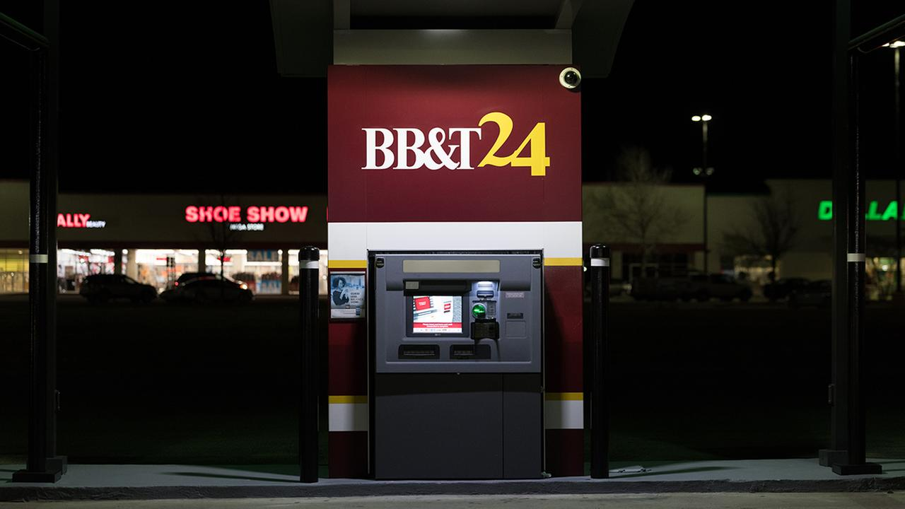 A BB&T ATM in Wilson. generic