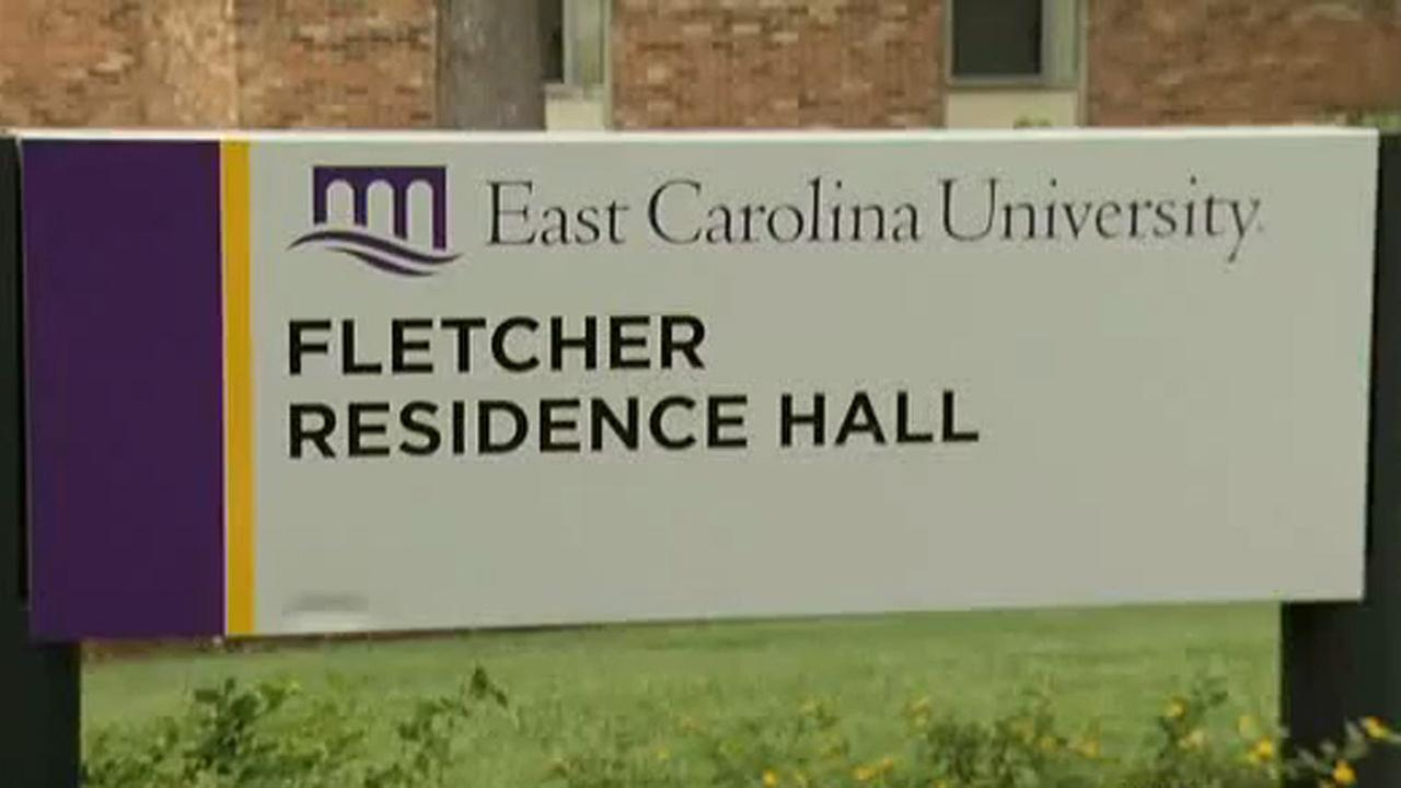 Fletcher Hall at ECU