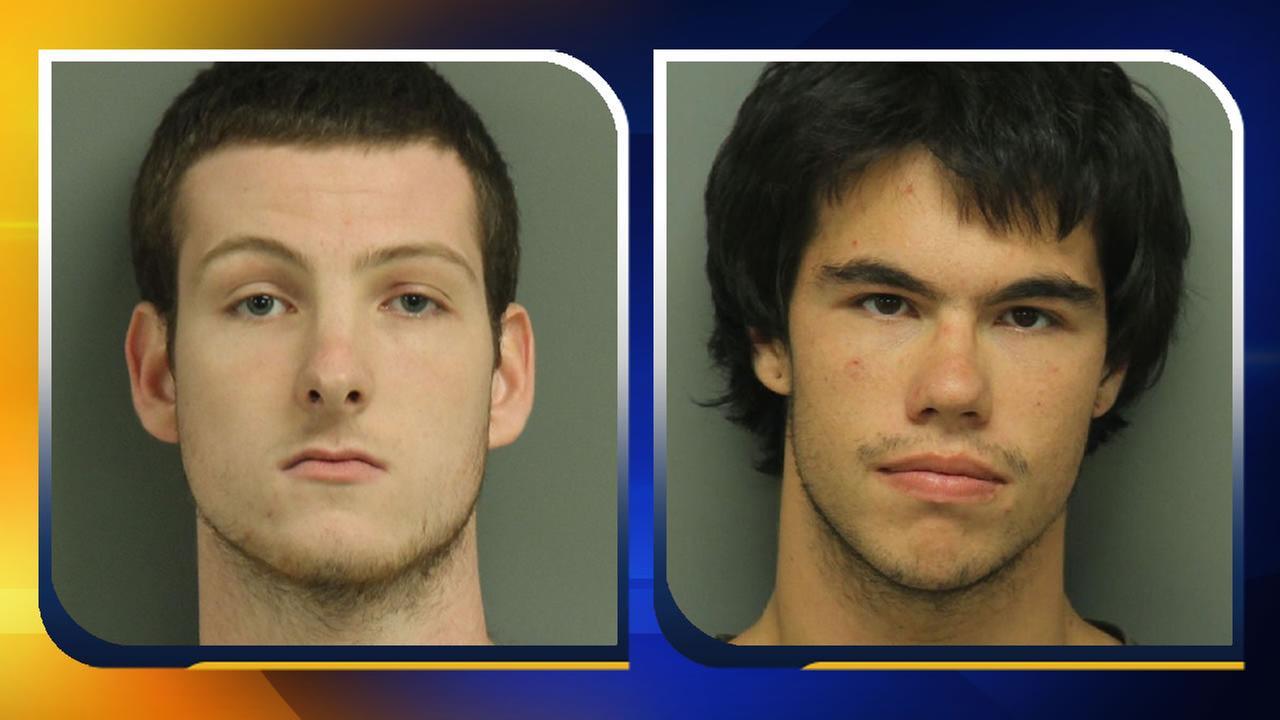 Chase Austin McKinley and Nicholas Scott Jenkins