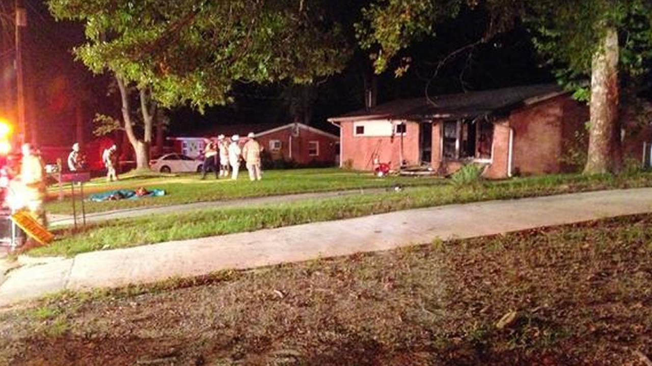 Dog killed in house fire on Beverly Drive in Raleigh