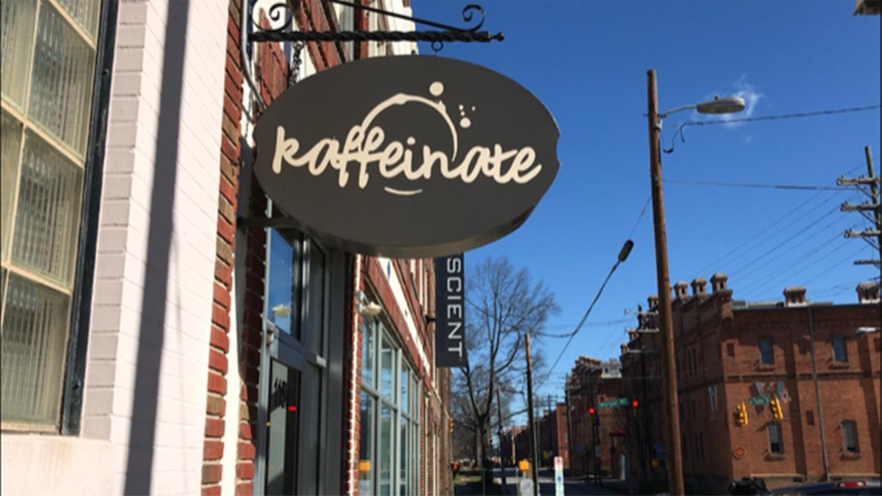 Durhams Kaffeinate opened a few months ago and is carving out a niche for itself.