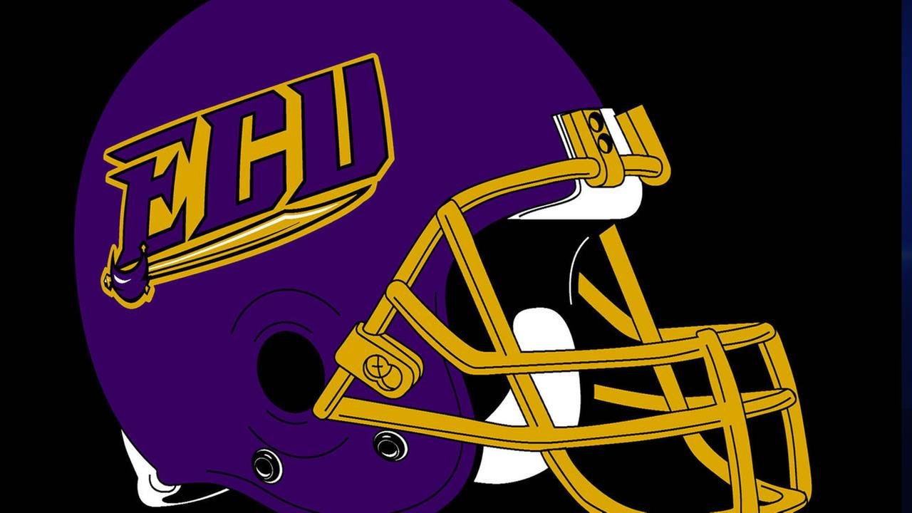 ECU East Carolina University football helmet