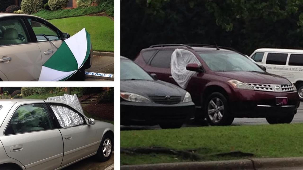 More than half a dozen cars were vandalized overnight in the parking lot of a Fayetteville assisted living complex.
