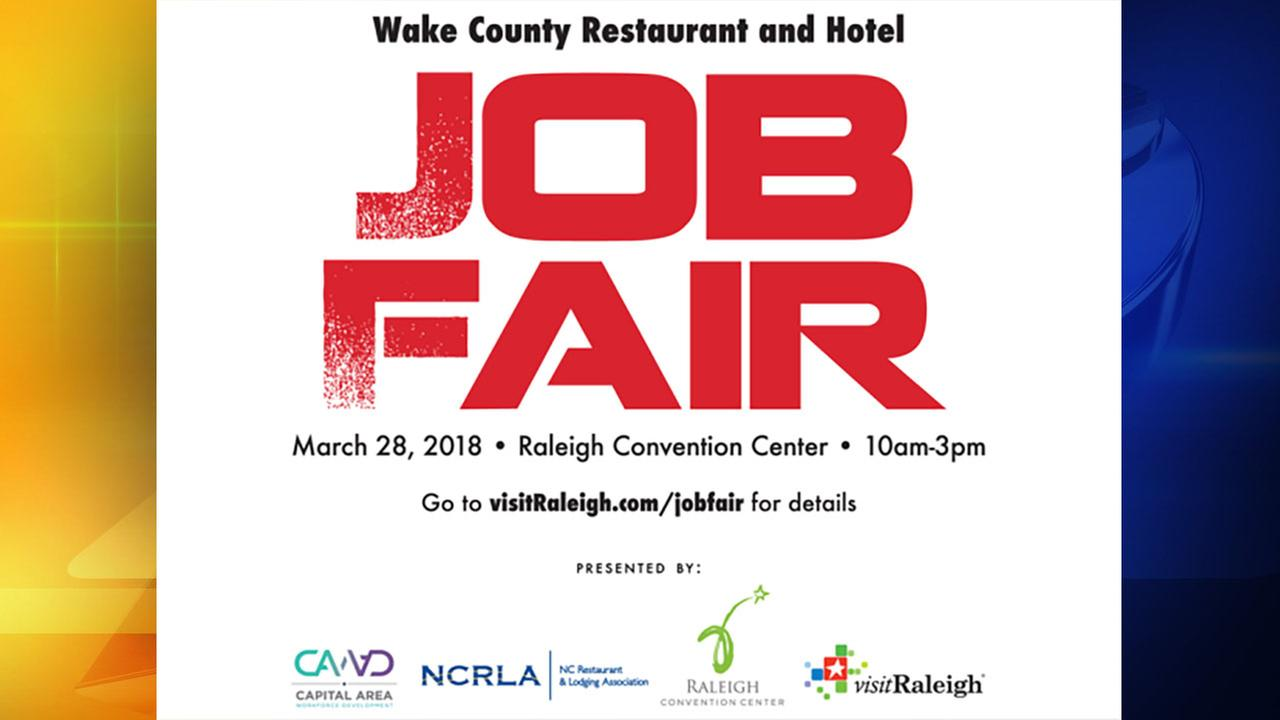 First ever Wake County job fair looks to fill more than 3,500 hospitality positions