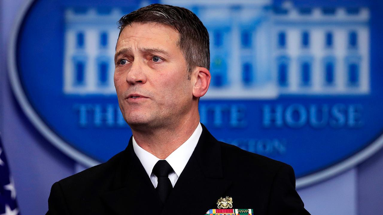 Ronny Jackson will take over as head of the VA.
