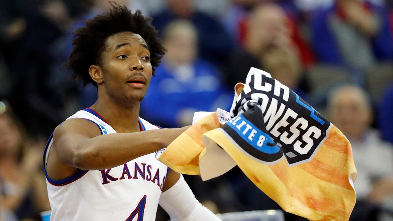 Raleigh native Devonte Graham has flourished during March Madness and has his Kansas Jayhawks in the Final Four.