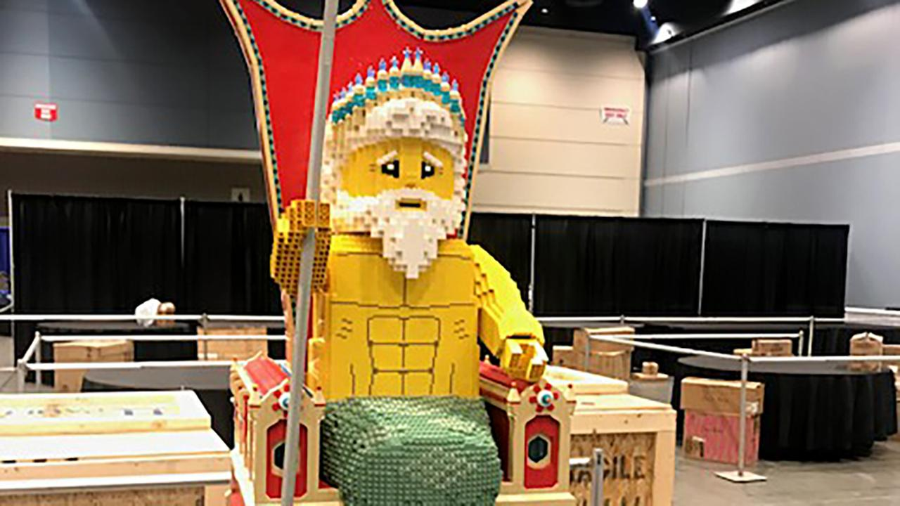 LEGO convention comes to Raleigh.