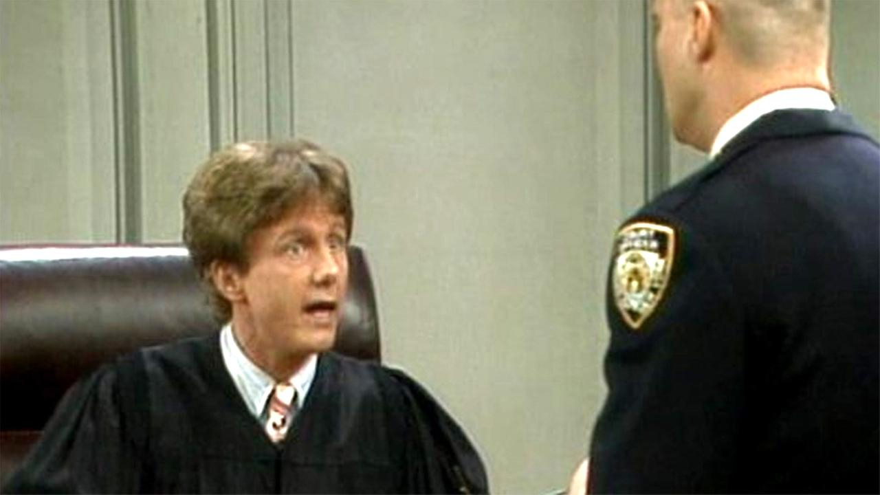 Harry Anderson on Night Court.