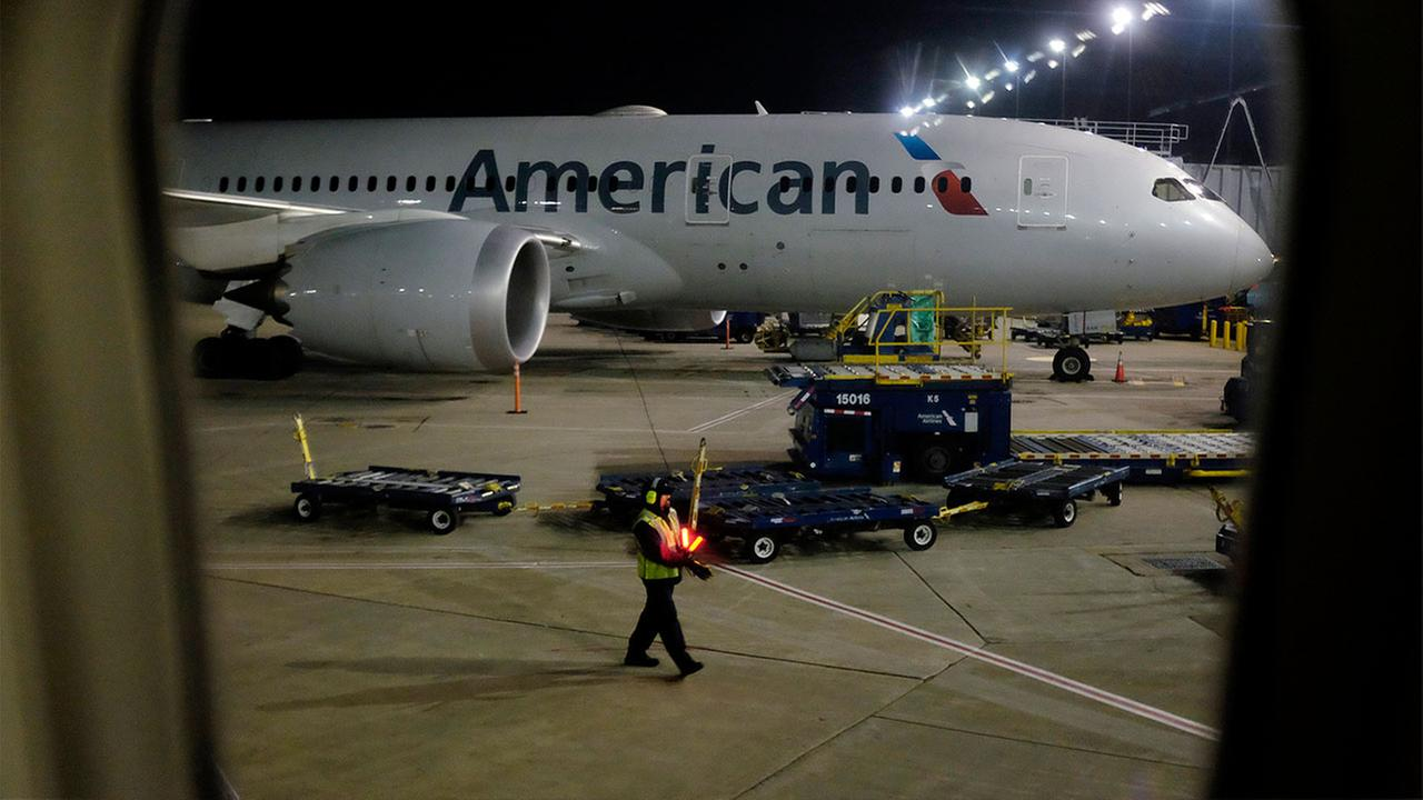 File photo of American Airlines plane
