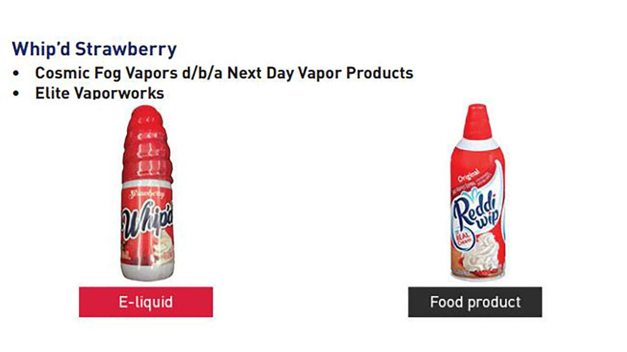 FDA and FTC issue warning about nicotine-containing e-liquids that look like candy, juice