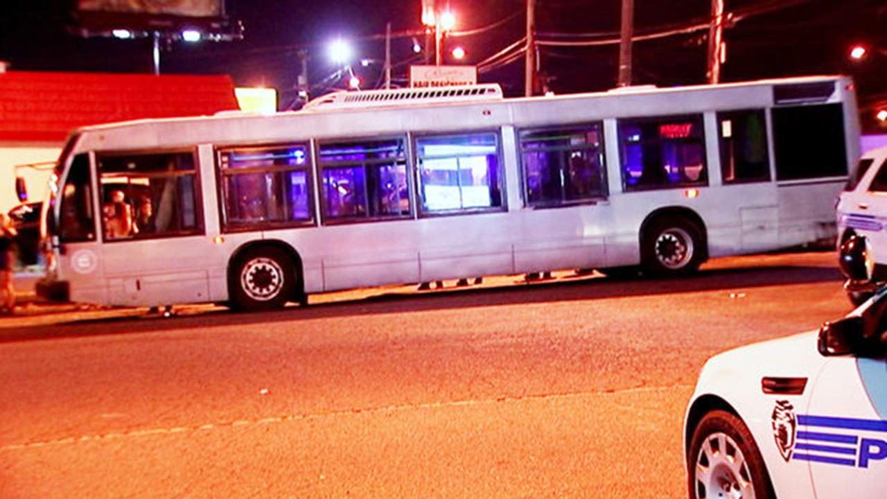 A 20-year-old woman is dead after police said she was struck by several cars after falling out of a window of a party bus in Charlotte.