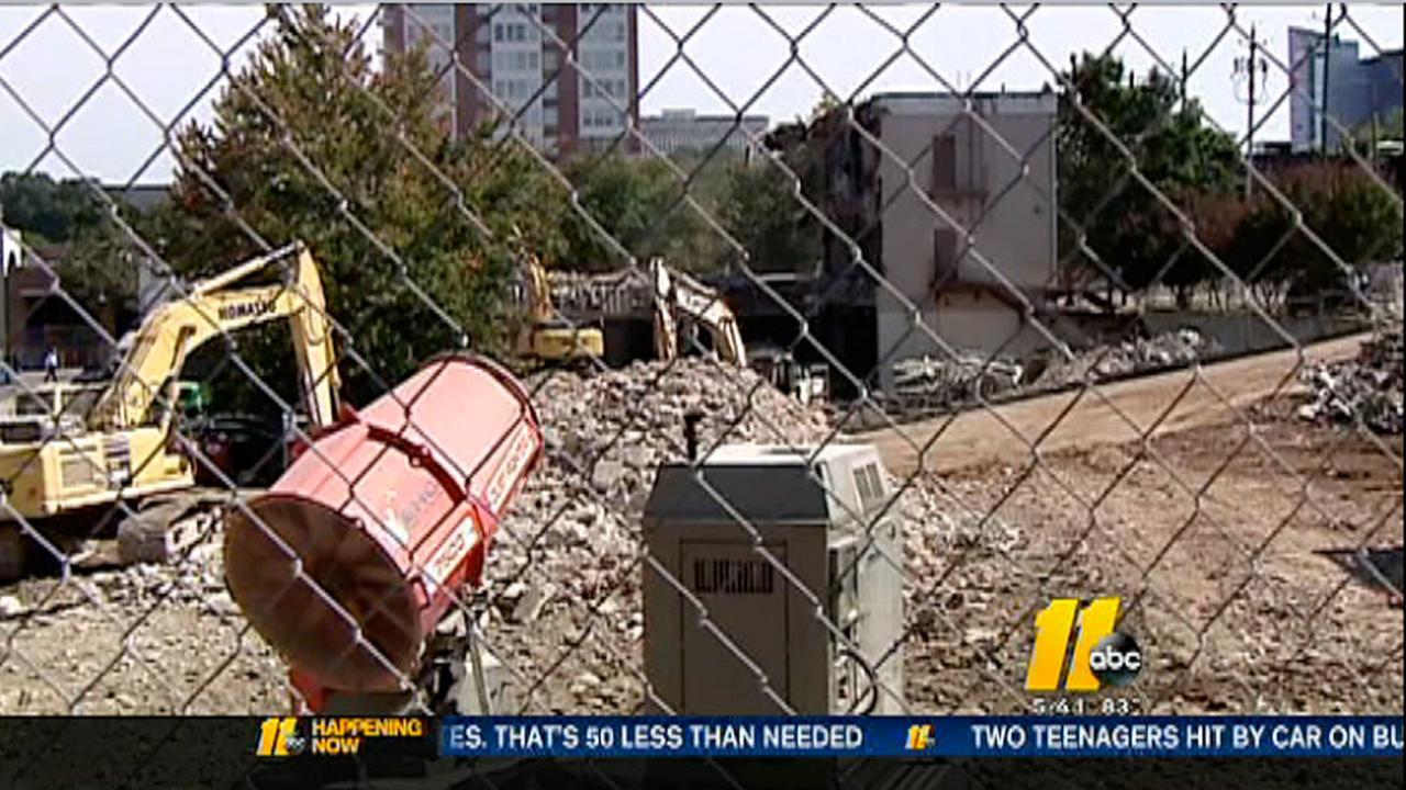I-Team investigates demolition problem