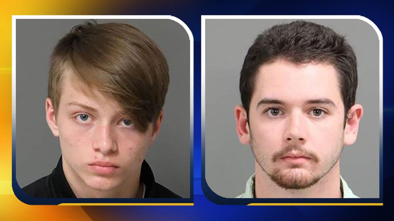Left: Dylan Wade, Right: Martin Woodard