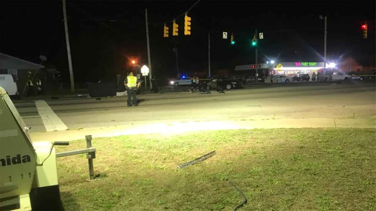 Motorcyclist Killed In Fayetteville Crash That Closed