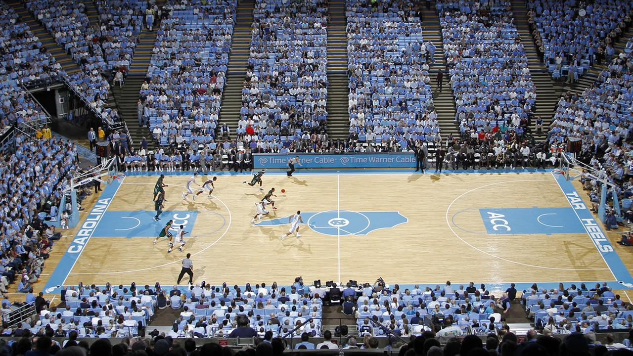 UNCs Dean Smith Center (AP Photo/Jim R. Bounds)