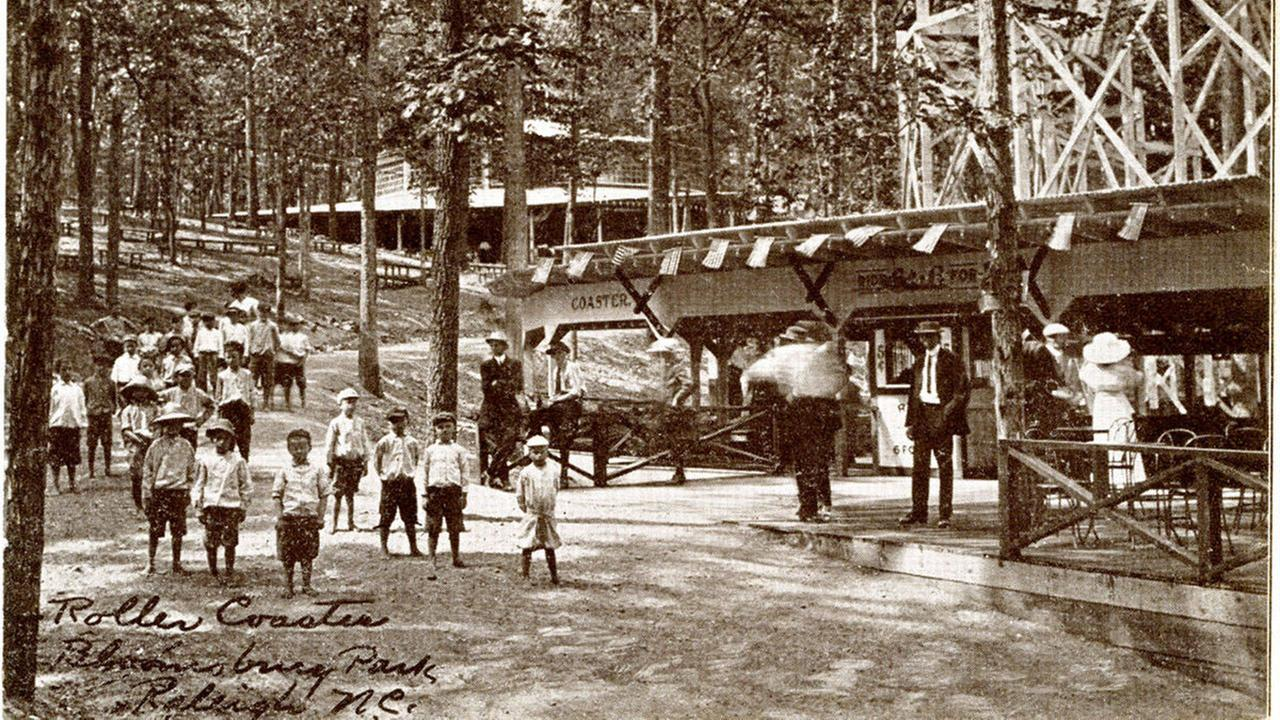 Bloomsbury: Uncovering the remains of Raleigh's lost theme park