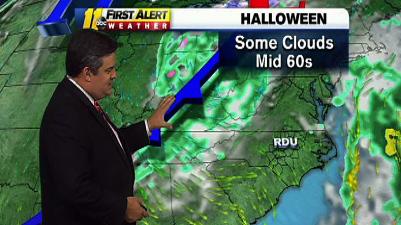 Halloween forecast