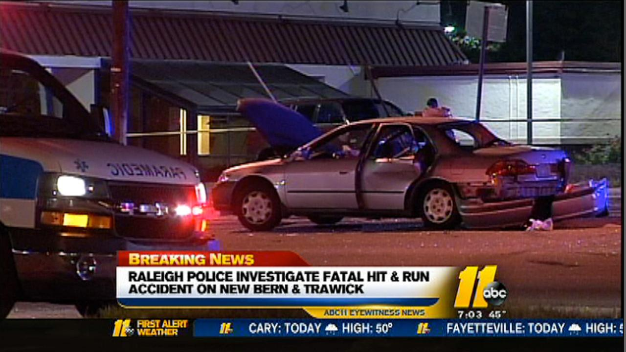 2 killed in Raleigh hit-and-run crash