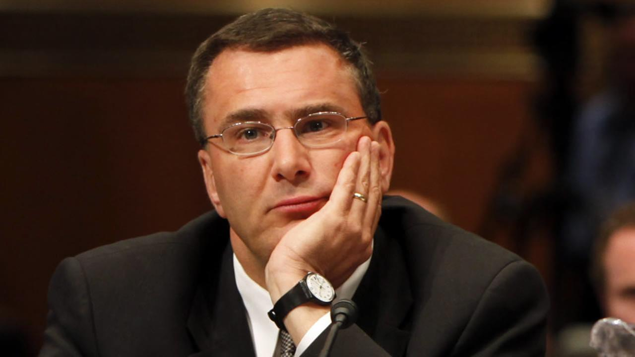 In this May 12, 2009, file photo Jonathan Gruber, professor of Economics at the Massachusetts Institute of Technology, participates in a Capitol Hill hearing on the overhaul of the heath care system in Washington.