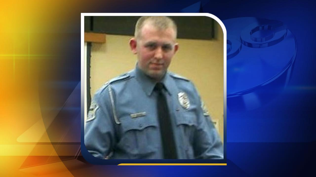 Ferguson police Officer Darren Wilson, shown in this screen shot via Facebook.