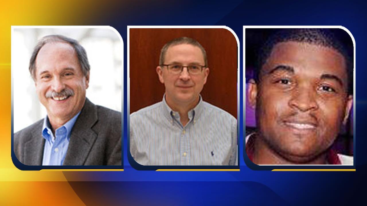 Dr. Michael Rosenberg (L), David Hartman (C), Chijioke Ogbuka (R)