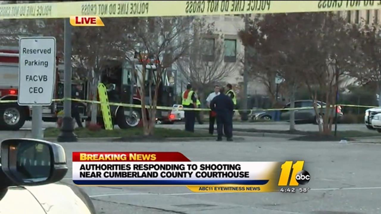 Shooting near Cumberland County Courthouse