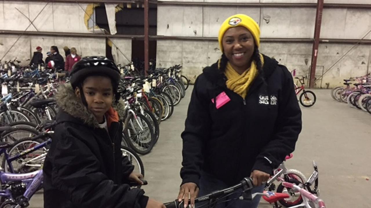 Fayetteville bike giveaway