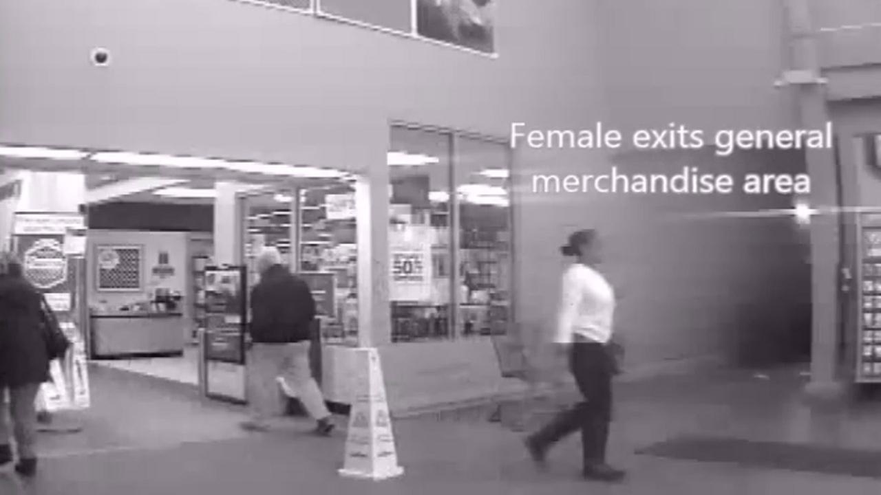 Surveillance video from assault at Hillsborough Walmart