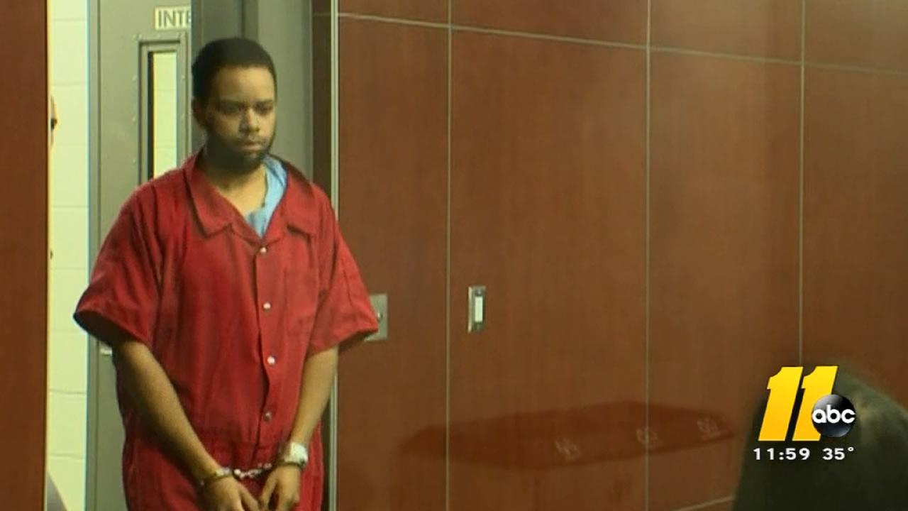Steven Blue appears in court.