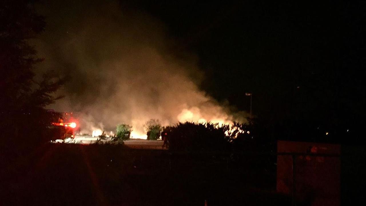 Fire Breaks Out In Old Fayetteville Trailer Park