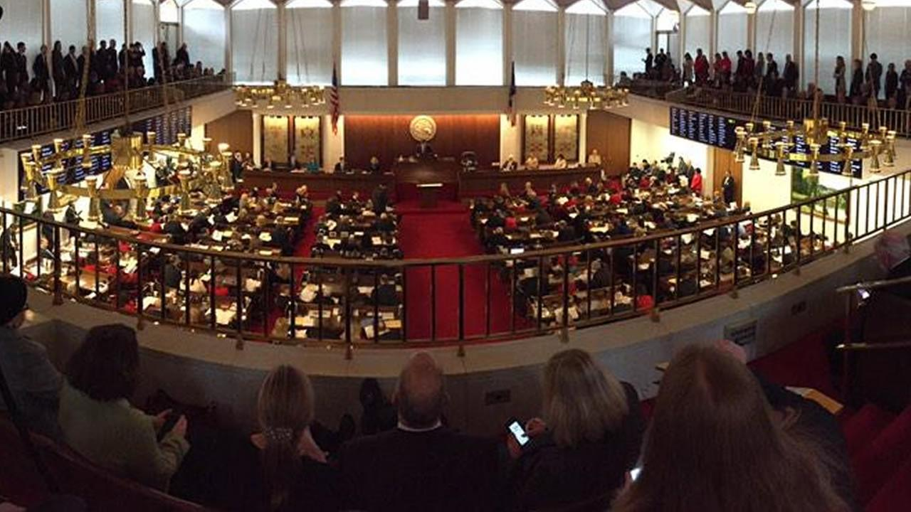 The North Carolina House of Representatives