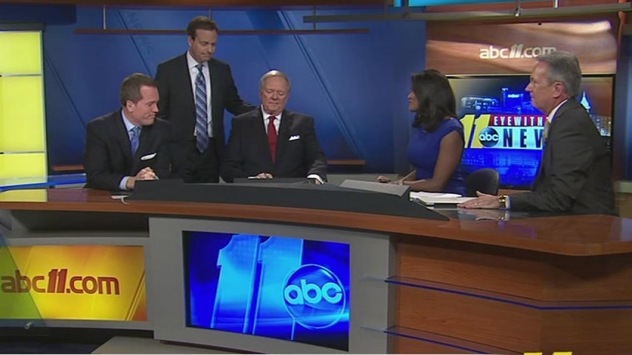 ABC11s Larry Stogner announces his retirement