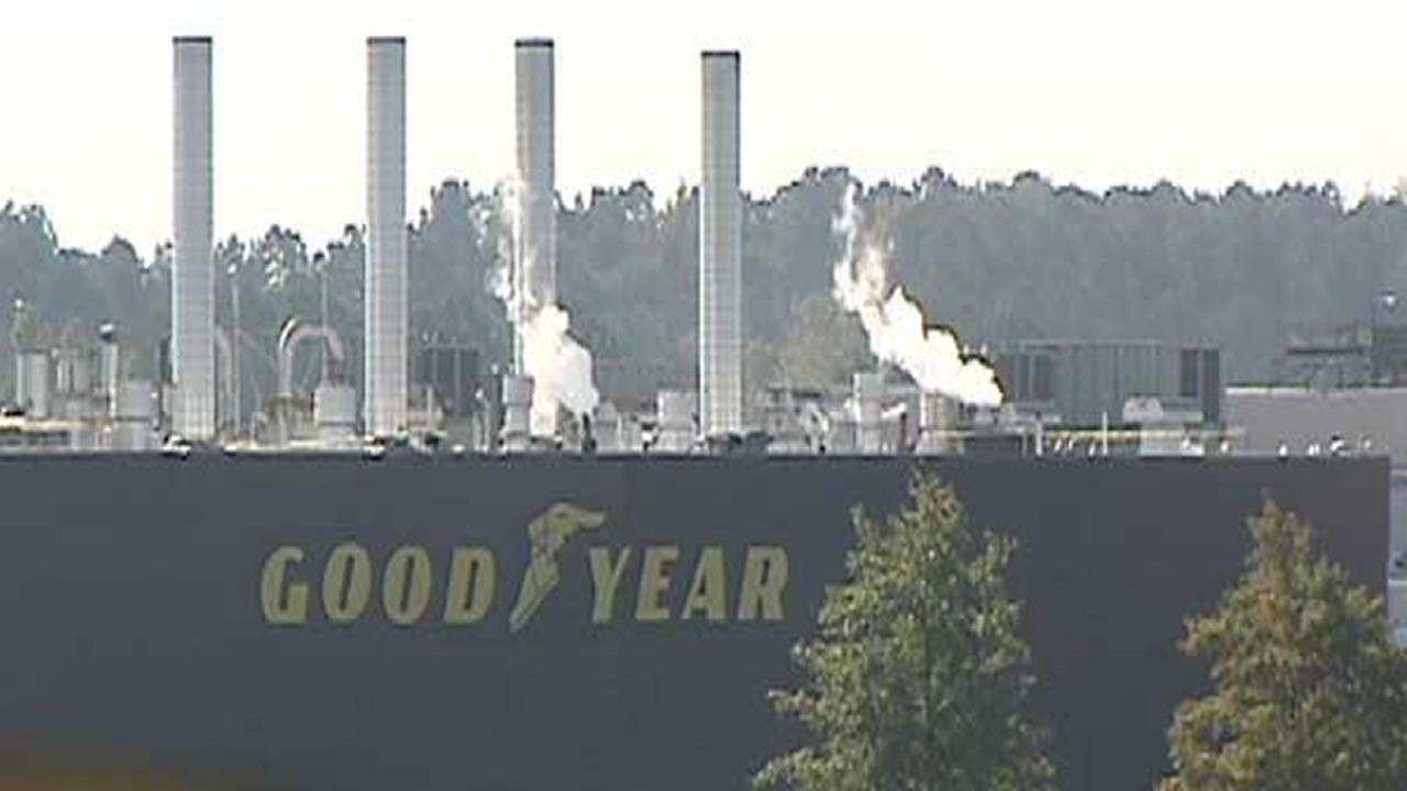 Fayetteville Goodyear plant