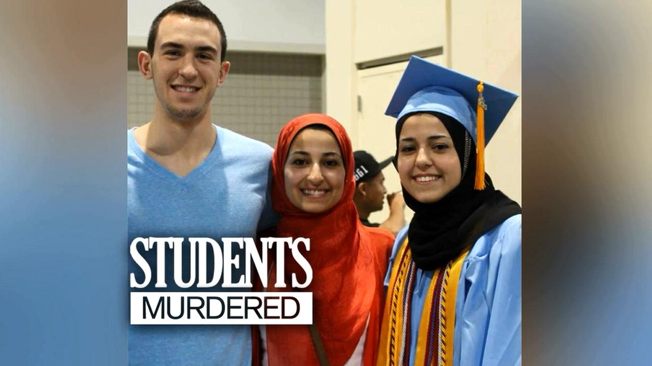 Students murdered in Chapel Hill graphic