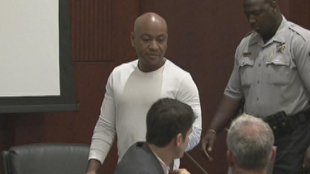 Grant Hayes appears in court