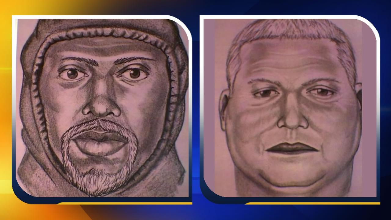 The Wilson County Sheriffs Office has released two composite sketches of the robbery suspects.