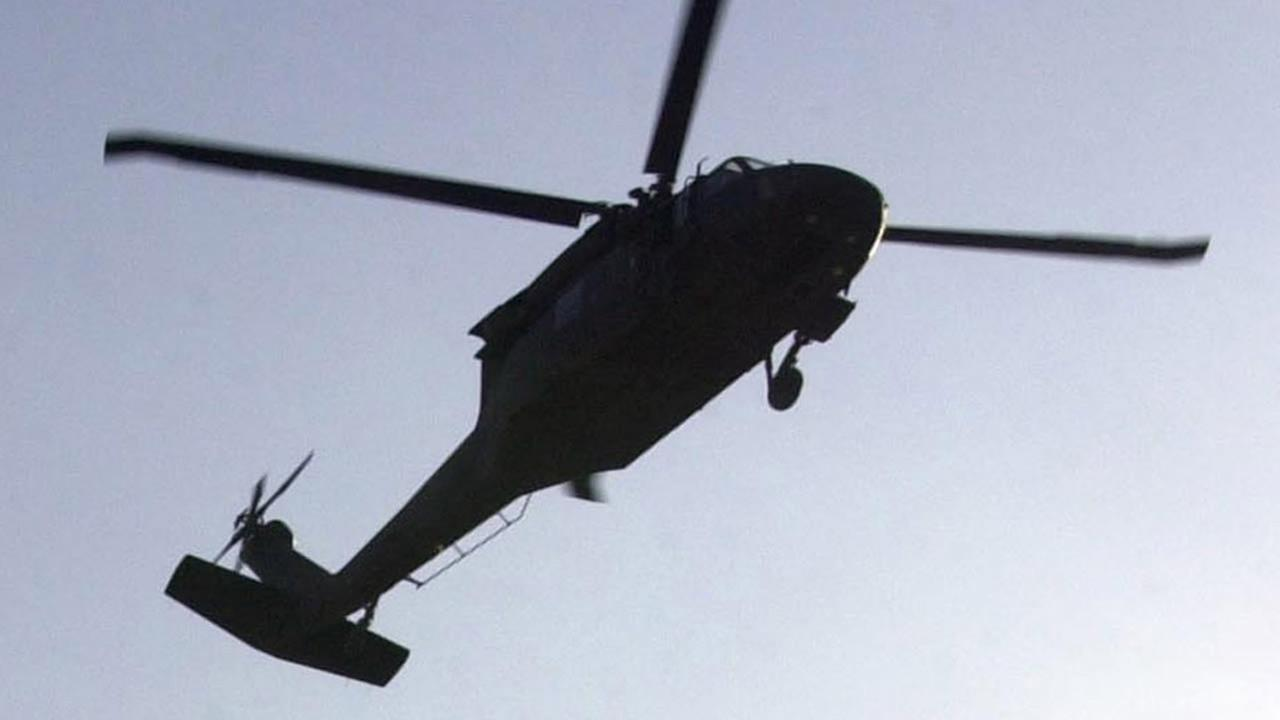 Army helicopter with 3 aboard goes down in Maryland
