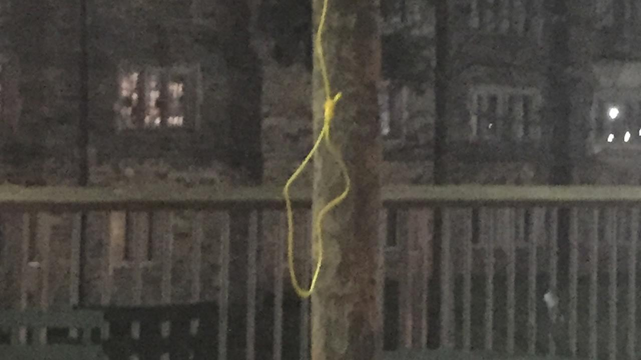 A noose was found on the campus of Duke University