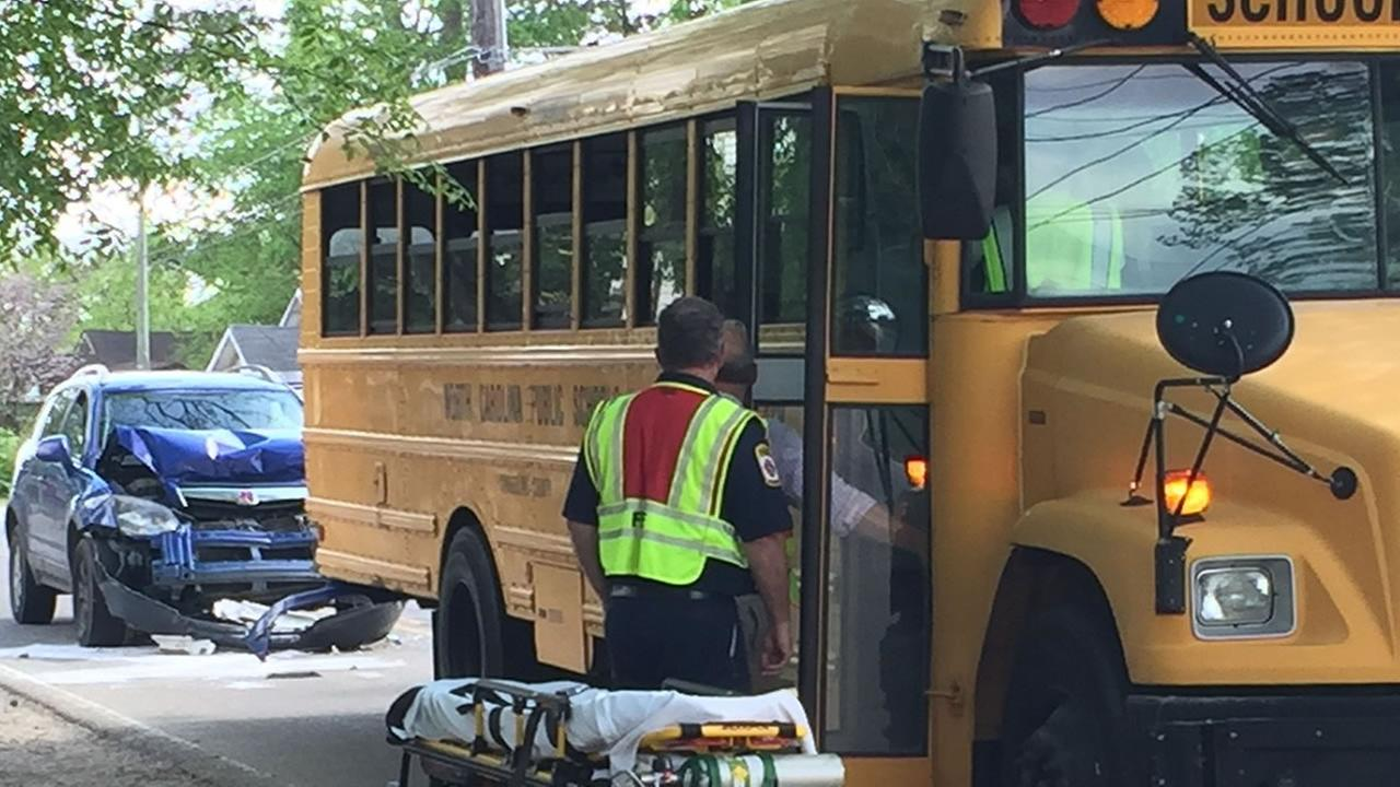 School bus accident in Fayetteville