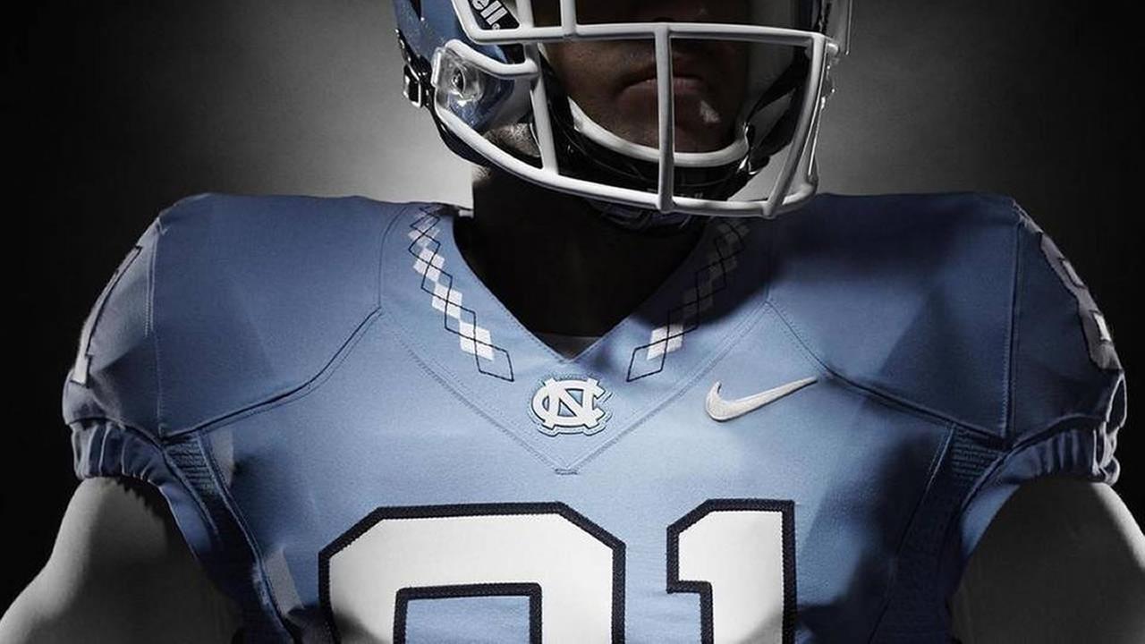 UNCs new football uniform design